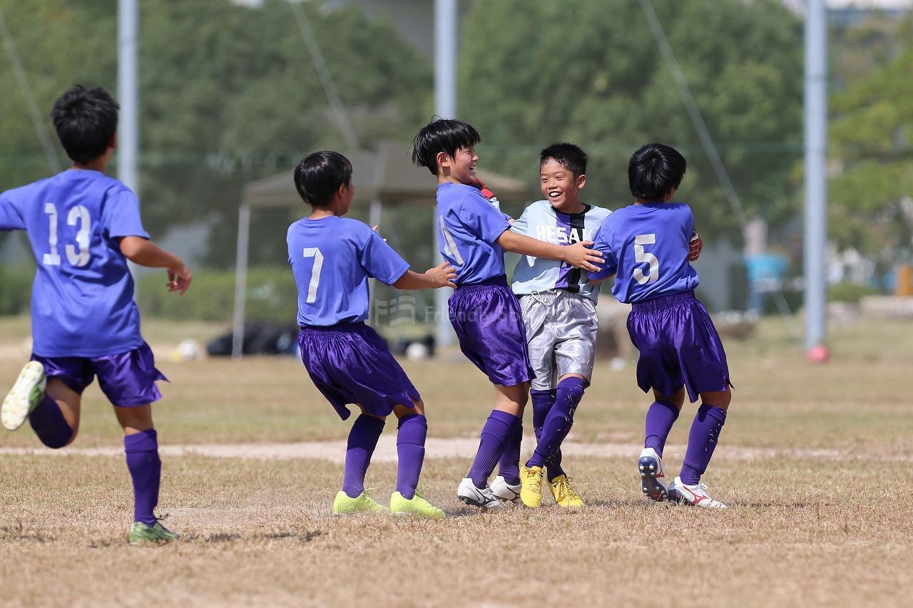 八幡 vs 戸坂                Uー12サッカー選手権大会 広島支部予選