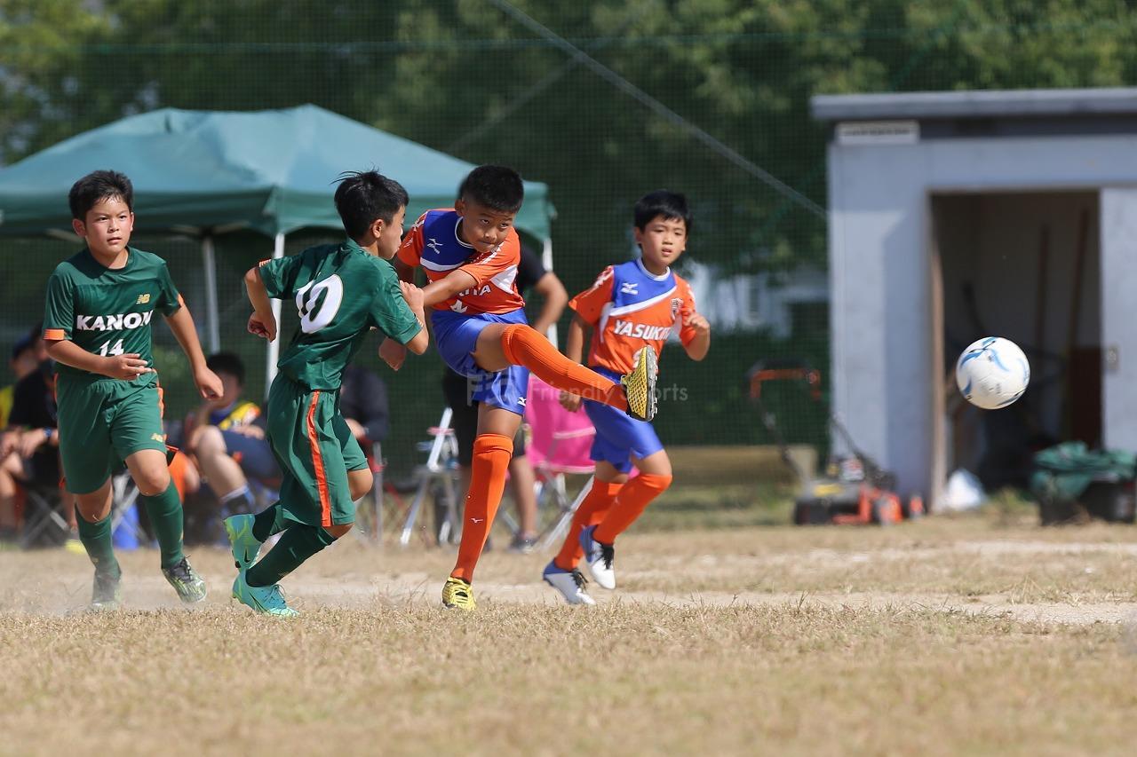 観音 vs 安北                Uー12サッカー選手権大会 広島支部予選