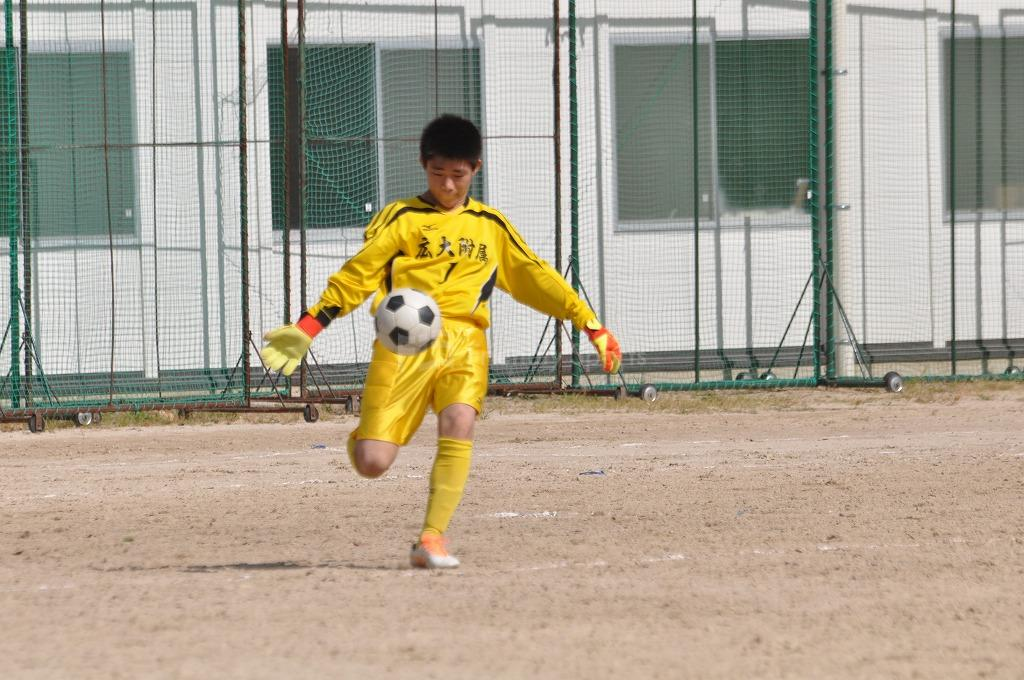 令和3年度 広島市中学校新人サッカー大会 - 南区大会  広大附属 VS 大州・翠町 試合模様1!