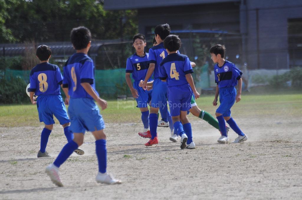 令和3年度 広島市中学校新人サッカー大会 - 南区大会  広大附属 VS 大州・翠町 試合模様2!