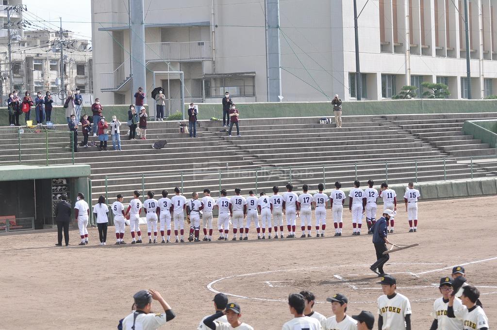 第66回秋季広島県高等学校軟式大会 崇徳 VS 広大附属!大会模様1!