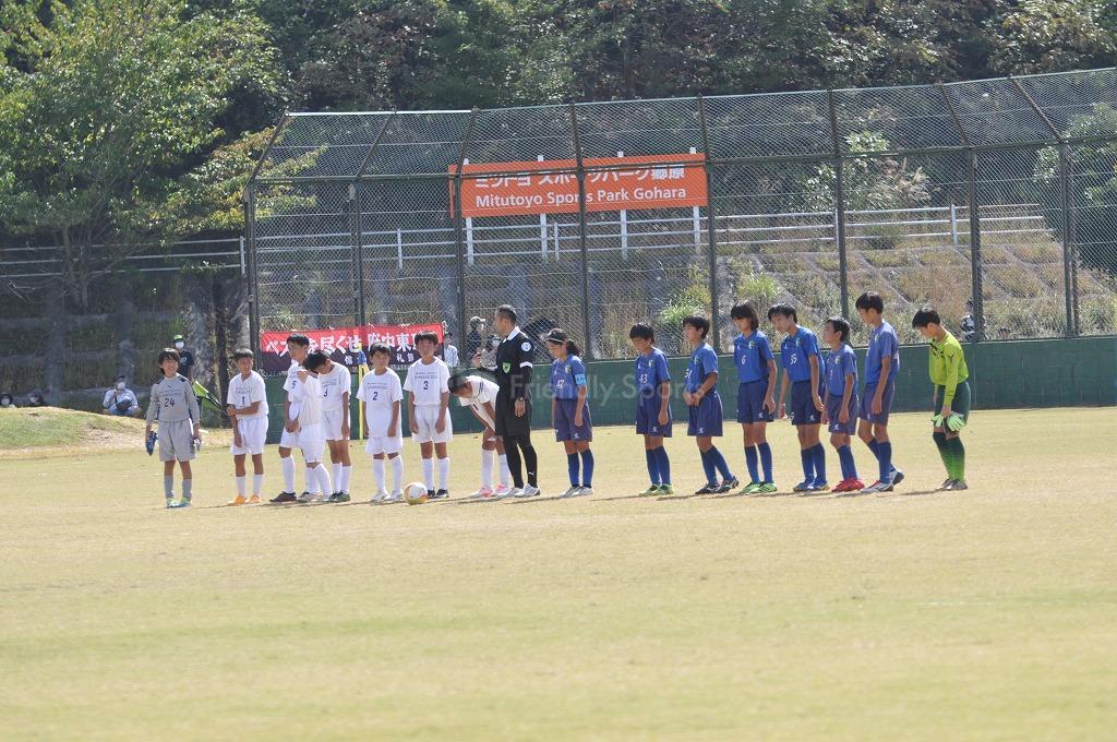 2021全日本少年サッカー大会広島県大会 リデル VS  熊野  試合模様2!