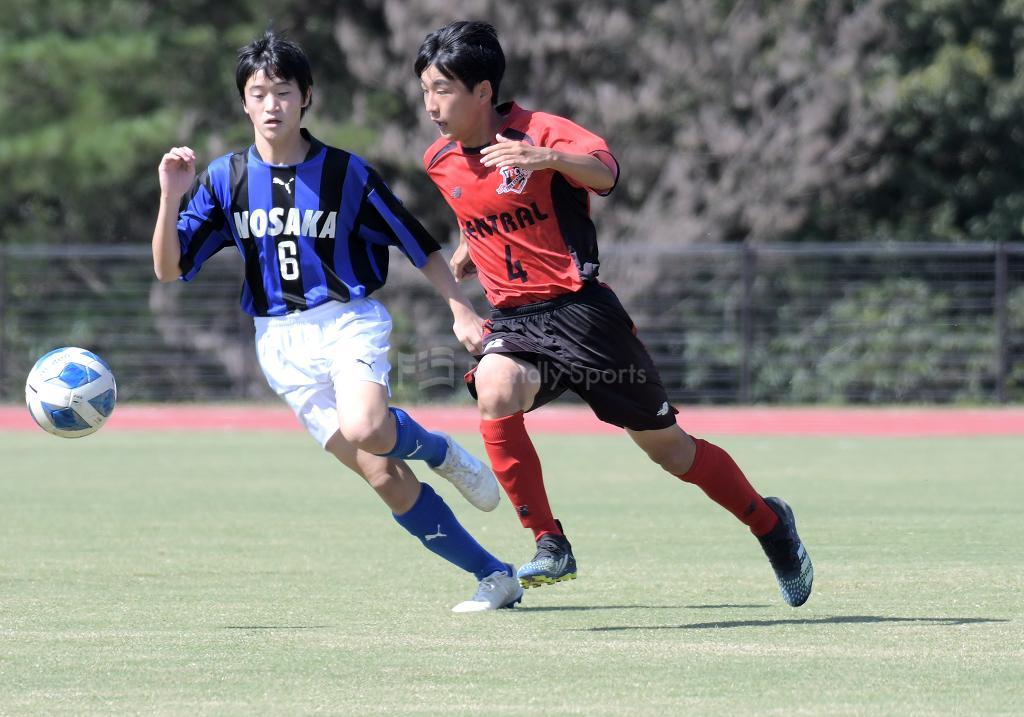 セントラル vs 野坂中 HiFA ユースリーグ U-15 (3部リーグ)