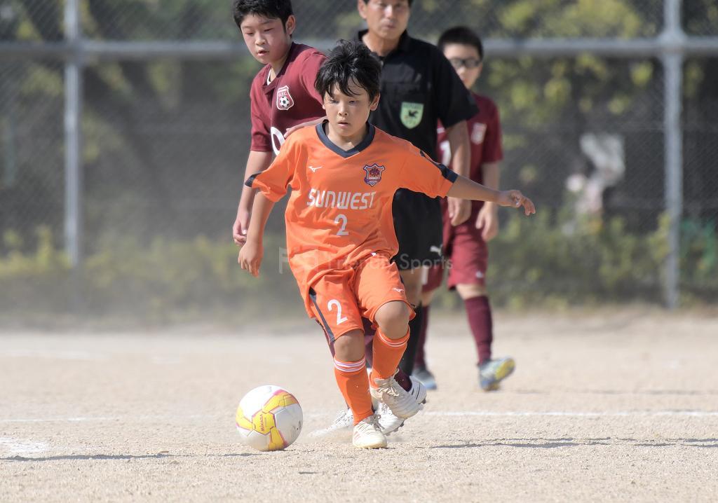 (C)サンウエスト vs 大河 全日本U-12サッカー選手権(広島支部)