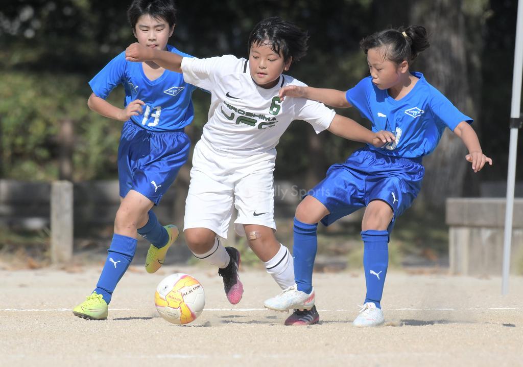 (D)JFC vs 大町 全日本U-12サッカー選手権(広島支部)