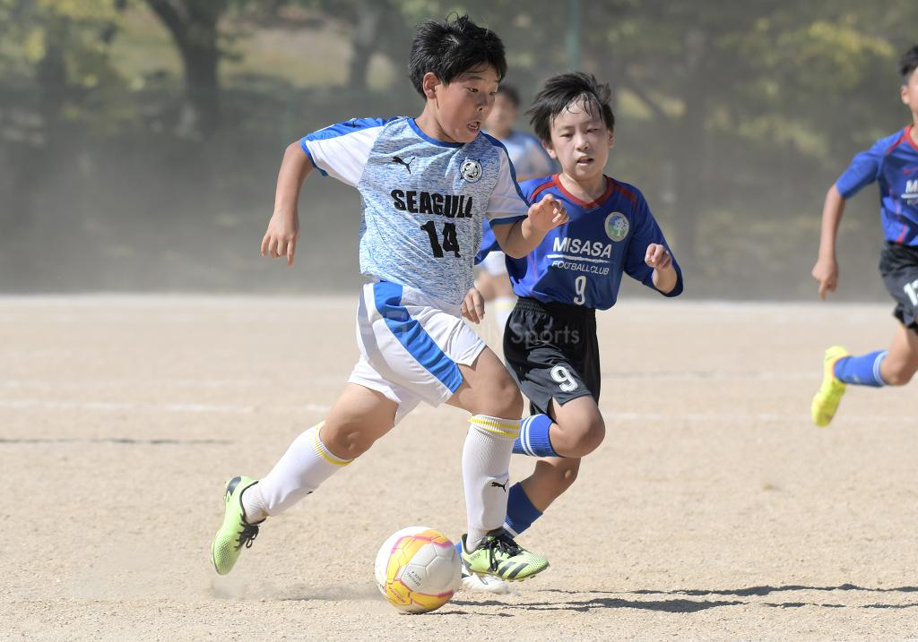 (B:決定戦) シーガル vs 三篠 全日本U-12サッカー選手権(広島支部)