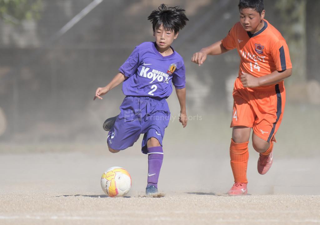 (C:決定戦) 高陽A vs サンウエスト 全日本U-12サッカー選手権(広島支部)