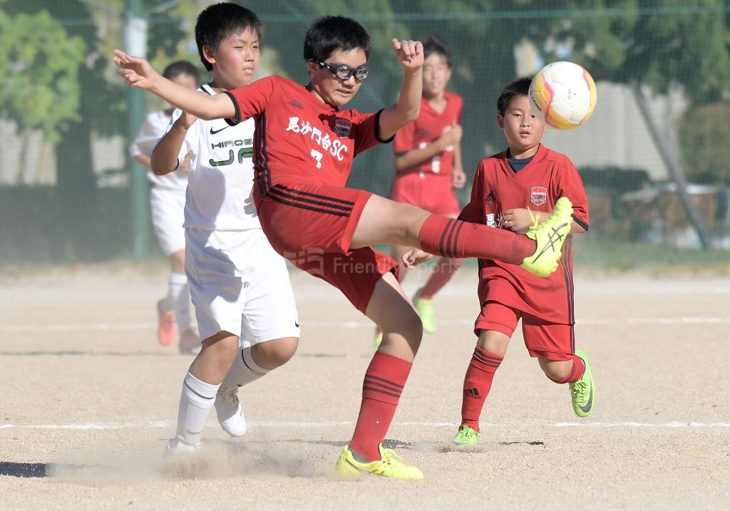 (D:決定戦) 毘沙門台 vs JFC 全日本U-12サッカー選手権(広島支部)