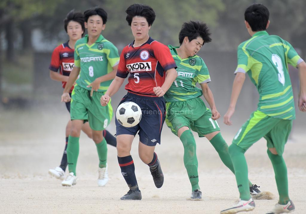 五日市 vs 皆実 HiFA ユースリーグ U-15 (2部リーグ)