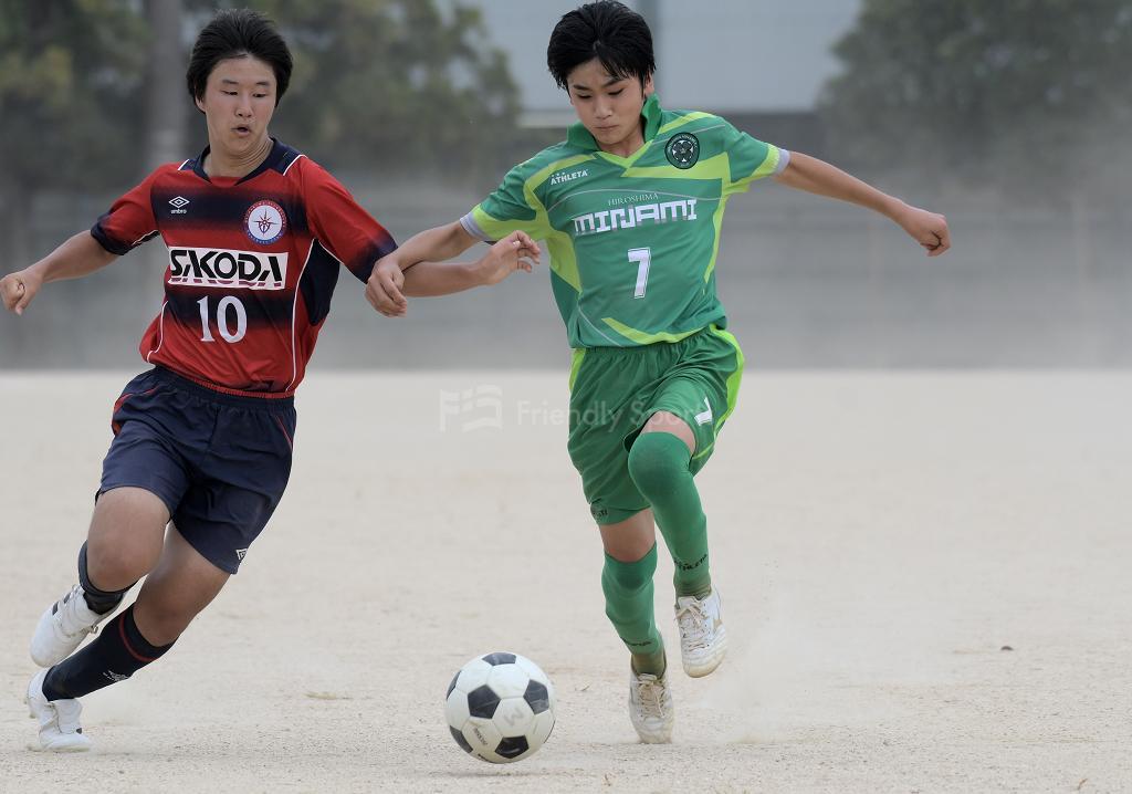 U-15  2021 HiFA ユースリーグ 2部 10月16日 試合結果
