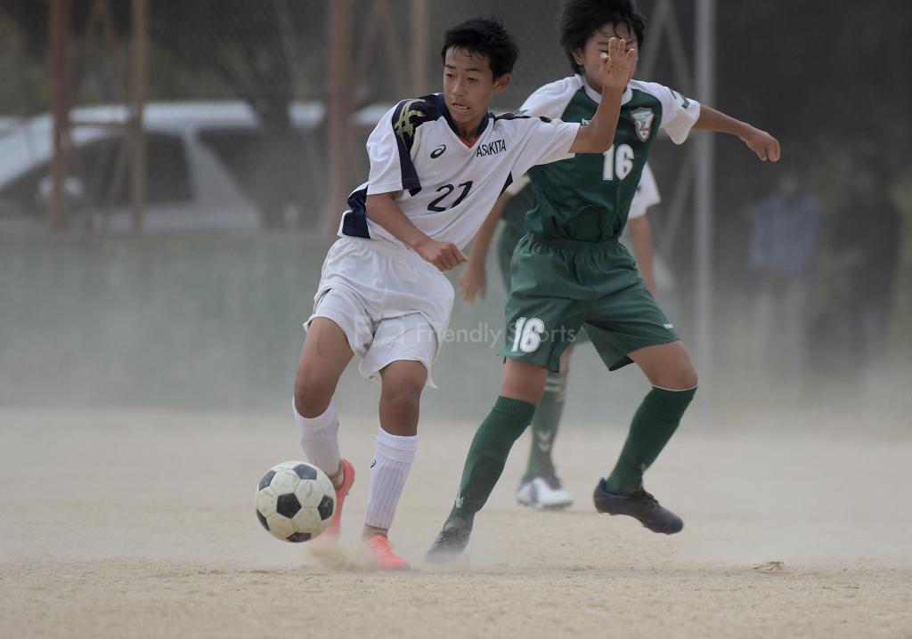 安佐北 vs ピジョン2 HiFA ユースリーグ U-15 (2部リーグ)