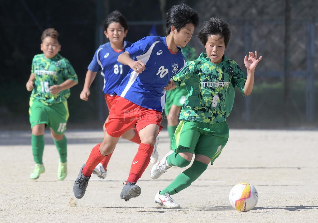 (J)皆実 vs レヴァリーズ 全日本U-12サッカー選手権(広島支部)