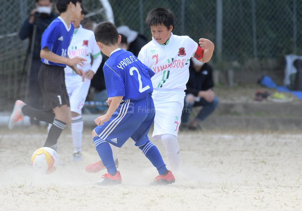 (K)山本 vs 矢野 全日本U-12サッカー選手権(広島支部)