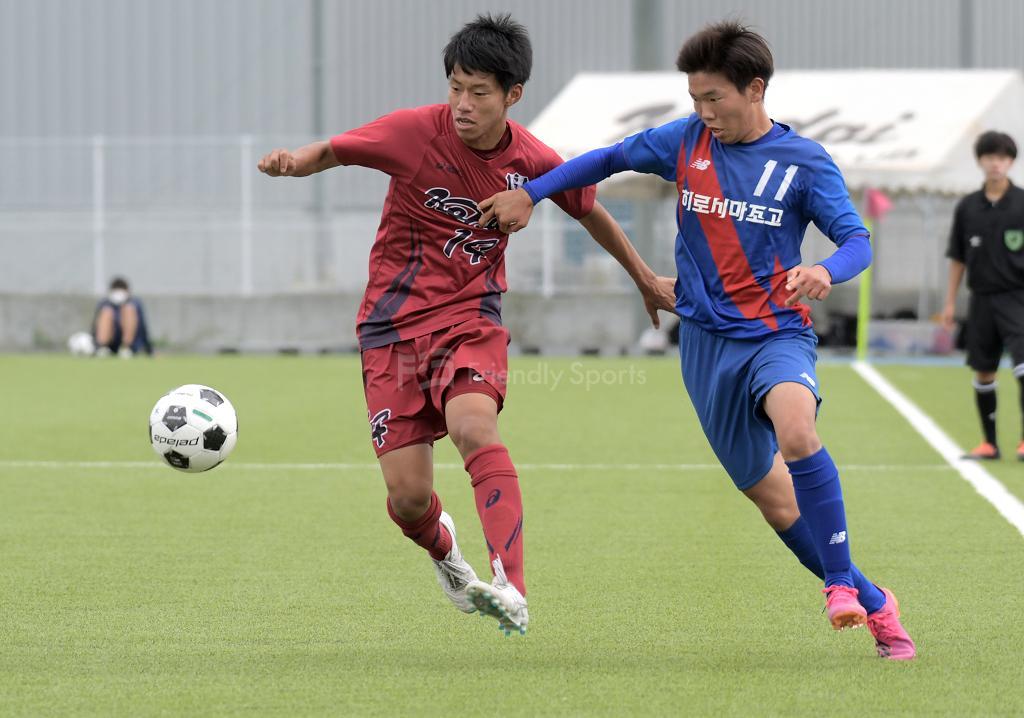広工大高 vs 広島朝鮮① 高校サッカー選手権大会
