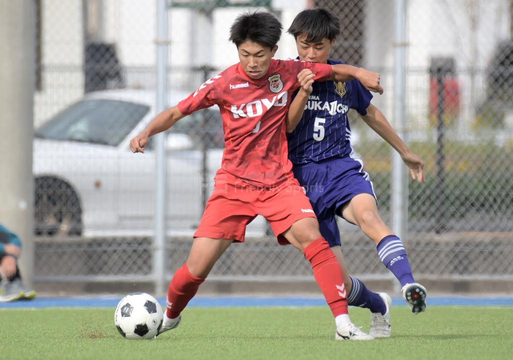 五日市 vs 高陽① 高校サッカー選手権大会