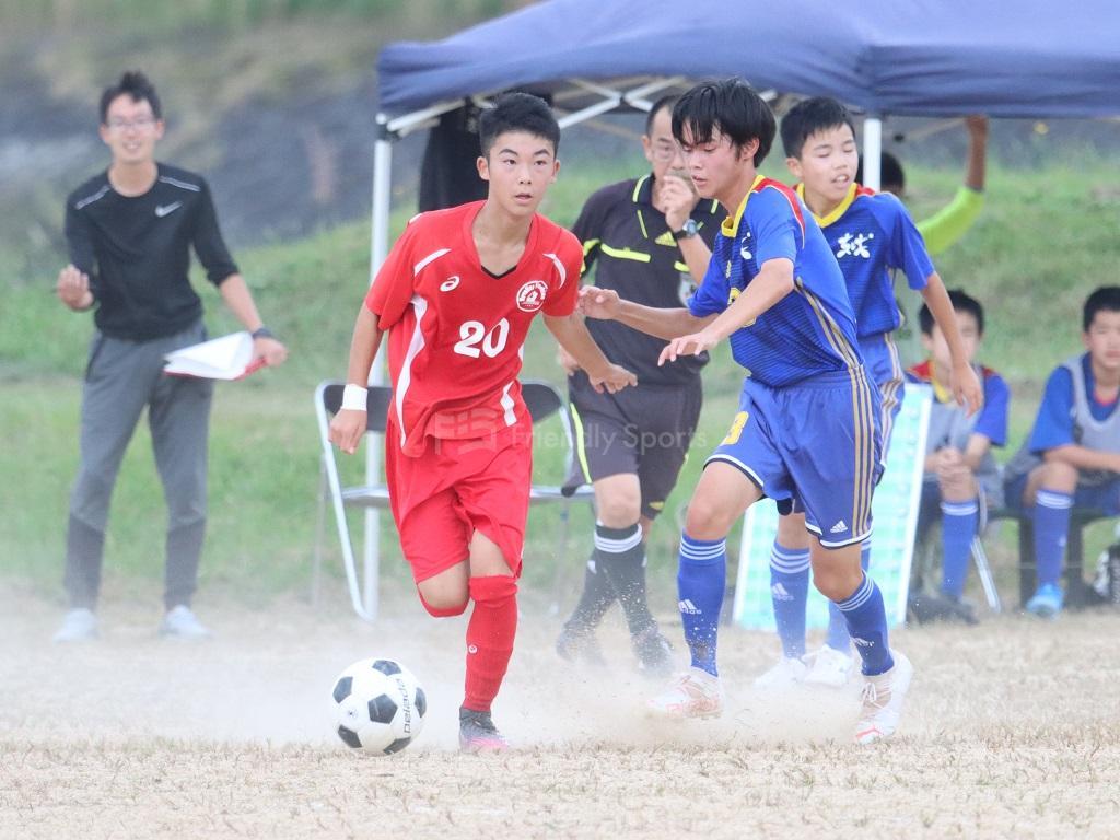 レヴァリーズ vs 東城中 HiFA ユースリーグ U-15 (3部リーグ)